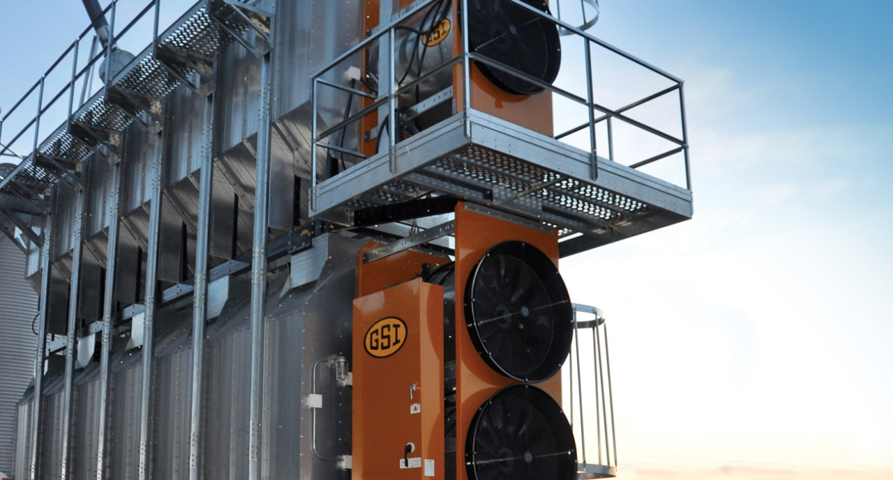 GSI Portable Stack Dryers | Wentworth Ag Grain Handling