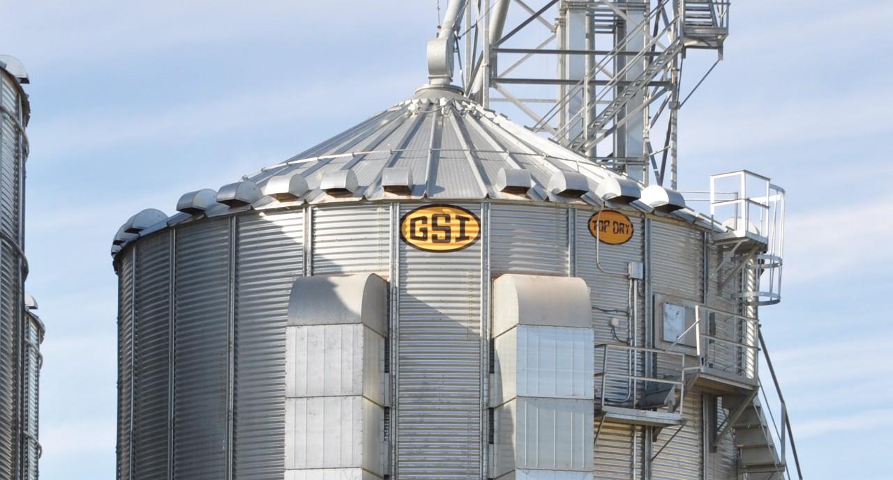 Top Dry Bin | Wentworth Ag Grain Handling Equipment, Winkler