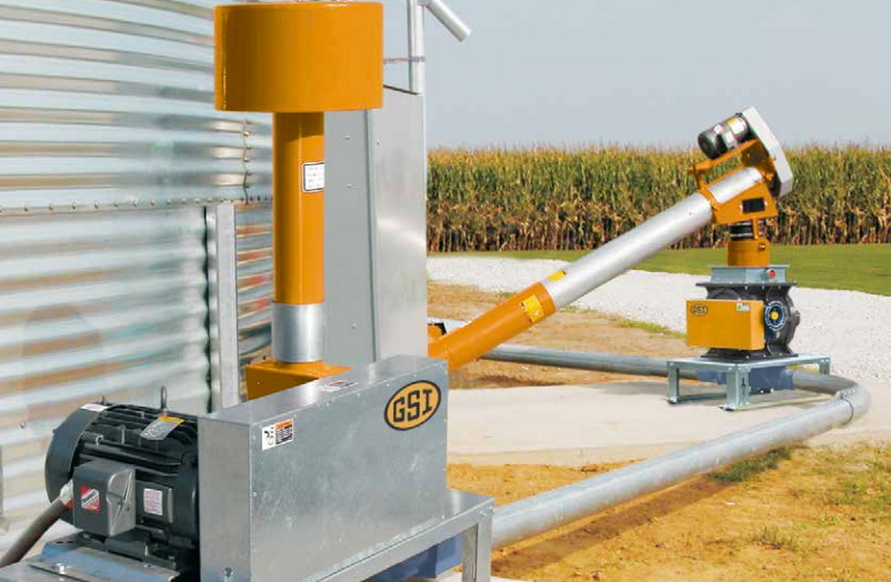Grain Blower System : Air systems wentworth ag grain handling equipment